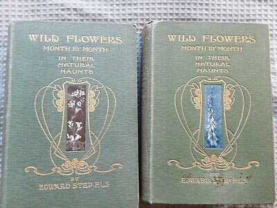 Edward Step 'Wild Flowers' 2 Volume Set, 1905, 1st, H/B With Pictorial Boards  • 9.99£