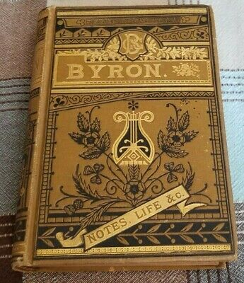 £509.04 • Buy The Poetical Works Of LORD BYRON With Notes, His Life, Etc ILLUSTRATED GOLD GILT