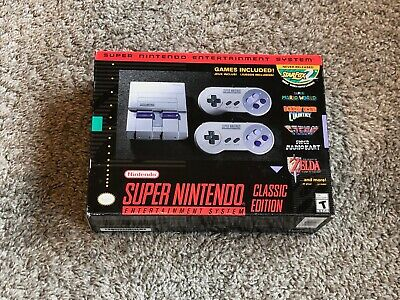 $ CDN223.33 • Buy Nintendo SNES Super Nintendo Classic Edition Home Console (NEW IN BOX!)