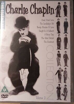 Charlie Chaplin Collection Volume 2   - DVD New & Sealed    • 3.99£