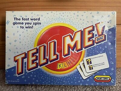 Vintage Spear's Tell Me Quiz Game (1995) - Complete • 6.99£