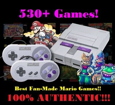 $ CDN303.92 • Buy Super Nintendo Classic Mini Edition SNES System - 530+ Games! NES! BRAND NEW!!!@