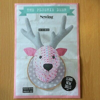 THE PLUSHIE DEER ANIMAL TOY Sewing Pattern By Gathered-Simply Sewing  - Uncut • 2.50£