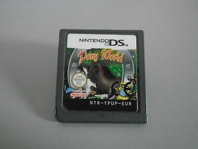 Clever Kids Pony World  Nintendo DS Lite DSi  Horse Stables Sim + Learn Facts • 5.95£