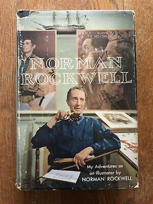 $ CDN24.75 • Buy Norman Rockwell   My Adventures As An Illustrator  First Edition