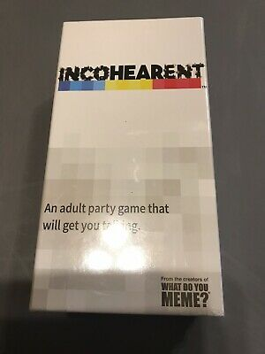 AU32.64 • Buy New What Do You Meme? Incoherent Incohearent Adult Party Game
