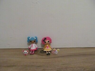 Lalaloopsy Mini Crumbs Cookie And Mittens Bundle Up With Pets • 3.50£