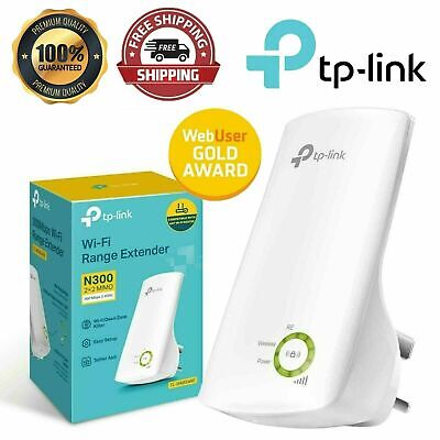 WiFi Booster Wireless Signal Extender 300Mbps Internet Repeater Router TP-Link • 18.99£