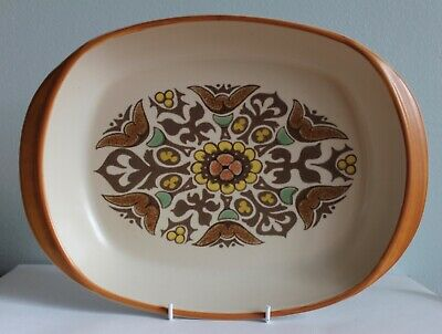 Denby Langley Pottery Canterbury Roasting Serving Dish Perfect Condition • 8£