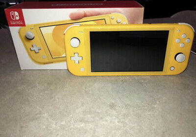 AU260 • Buy Yellow Nintendo Switch Lite 32GB Handheld Console (Free Postage)