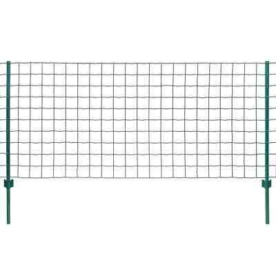 VidaXL Euro Fence Set 20x0.8m Steel Green Outdoor Garden Patio Wire Mesh Panel • 88.99£