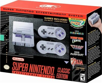 $ CDN244.46 • Buy Super Nintendo Entertainment System: Super NES Classic Edition (SNES) - READ VG