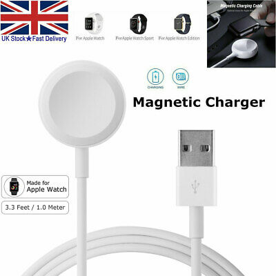 £5.99 • Buy For Apple Watch IWatch 5/4/3/2/1 Magnetic Cable 38 42 44mm Charger Charging Dock
