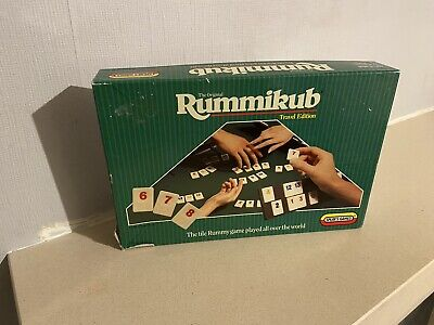 Rummikub Travel Spears Games, 1988. Vintage And Complete. • 4.50£
