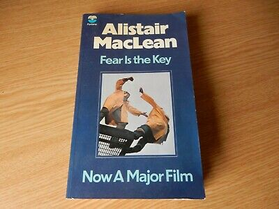 £4.99 • Buy Fear Is The Key By Alistair MacLean - Rare Paperback Book