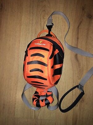 LittleLife Disney Tigger Toddler Backpack With Reins Fast Dispatch • 0.99£