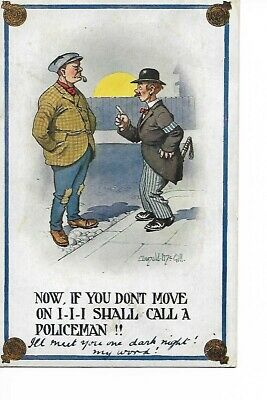 Postcard Donald McGill Posted 1915 • 0.99£