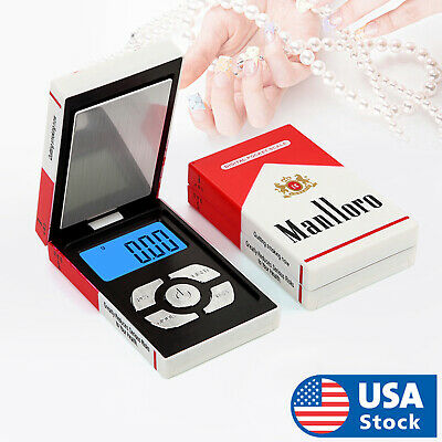 $13.58 • Buy USA 200g X 0.01g Digital Pocket Scale HCG-200 Jewelry Scale Gold Coin Reload