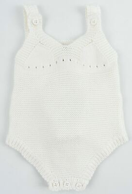 £31.99 • Buy STELLA MCCARTNEY Baby Girls' Knit Body With Pink Bunny, Cream, Size 9 Months