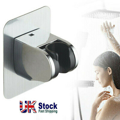 Adjustable Bathroom Wall Mounted Shower Head Handset Holder Bracket Suction UK • 4.99£