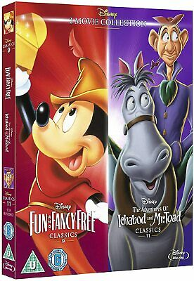 Fun And Fancy Free The Adventures Of Ichabod Mr Toad Blu Ray O RING SLIP COVER • 13.75£