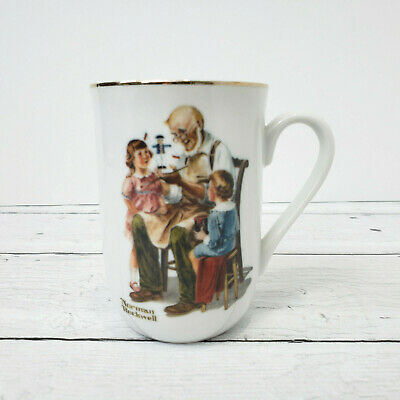 $ CDN14.76 • Buy Vintage 1982 Norman Rockwell Museum THE TOYMAKER Collectible Cup Authentic Mug