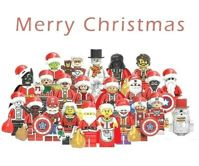 Christmas Characters Including Avengers, Star Wars. Lego Compatible • 3.10£