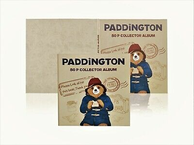 Brand New 2020 Paddington Bear 50p Fifty Pence Coin Album BIRTHDAY PRESENT GIFT • 12.99£