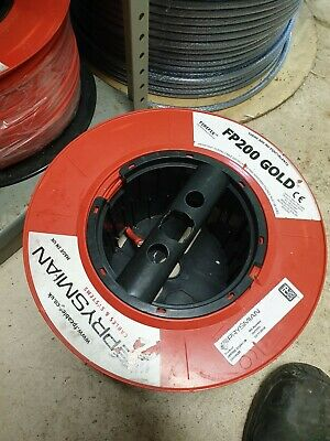Prysmian Fp200 Gold  Fire Alarm Cable Red 1.5mm 2 Core + Earth 100m • 60£