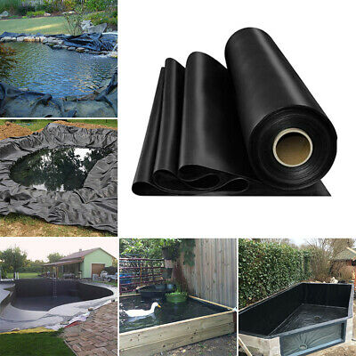 Outdoor HDPE Liner Membrane Landscaping Garden Fish Pond Liners Anti-seepage New • 55.19£