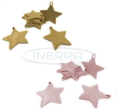£3.99 • Buy Star Balloon Weights For Helium Balloons - Multipack - Gold & Baby Pink