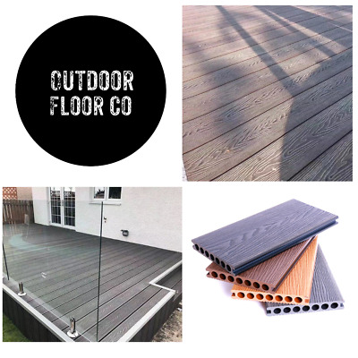 £22.50 • Buy Create Your Own Composite Decking Area- Wood Effect Boards / Trims / Fixings