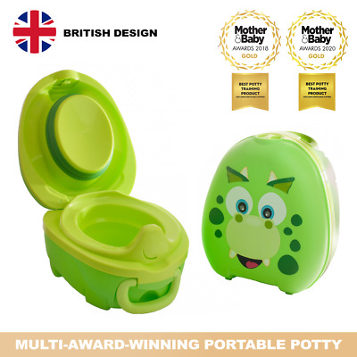 My Carry Potty Dino Premium Travel Potty Portable Toddler Baby Kids Toilet Seat • 26.95£