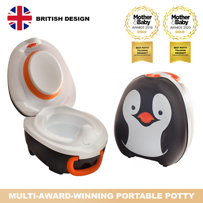 £26.95 • Buy My Carry Potty Penguin Travel Portable Toddler Baby Kids Toilet Seat Training