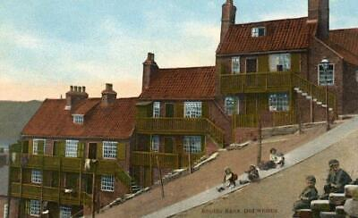 Printed Postcard Of Boulby Bank, Whitby (near Sleights), North Yorkshire By Ross • 6£