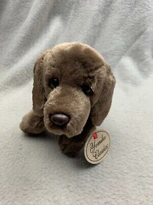 Russ Berrie Yomiko Classics Brown German Shorthaired Pointer Soft Toy Plush Dog • 9.99£