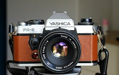 Yashica FX-D Slr With Yashica  50mm F1.9 Prime Lens • 74.99£