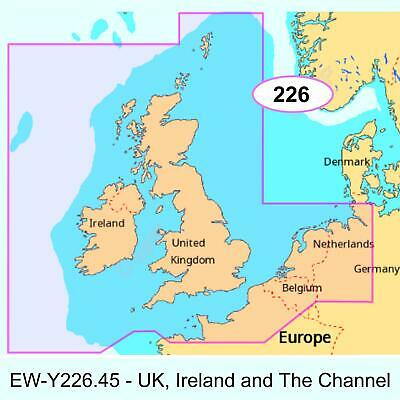 £199.61 • Buy C-MAP MAX-N+ EW-Y226 UK, Ireland And The Channel Chart Micro SD/SD Card│EW-Y226