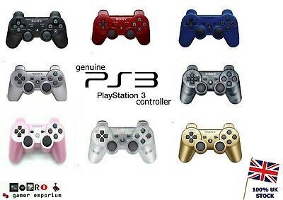 Sony Playstation 3 Controller Official Ps3 Joypad Genuine Dual Shock 3 Dualshock • 17.45£
