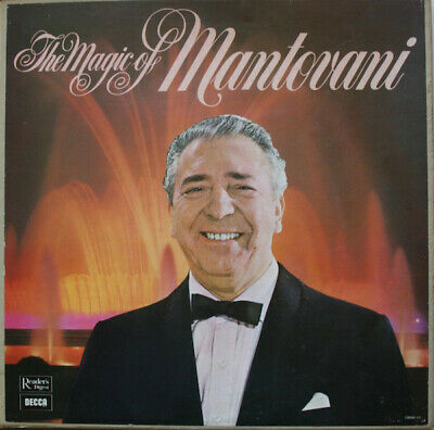 The Magic Of Mantovani Readers Digest Stereo Gman-6a • 9.99£
