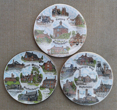 Cannock Chase Plate Selection By A J L Giftware • 12.99£