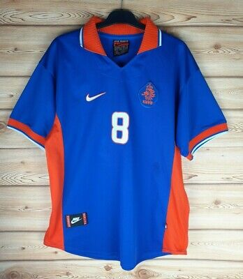 Netherlands 1997-1998 Away Football Shirt #8 / Men's Large  • 49.99£