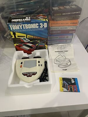 Excellent Tomytronic 3-D Thundering Turbo Game LCD Tomy Nintendo • 225£