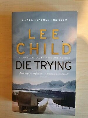 Die Trying By Lee Child New Paperback Book • 5.50£