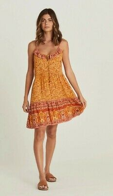 AU60.50 • Buy 'island' Mini Dress In Mimosa By Arnhem, Size 8, Could Fit A 10. Fully Lined
