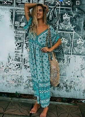 AU300 • Buy Spell And The Gypsy Collective Kombi Gown Sage Size XS