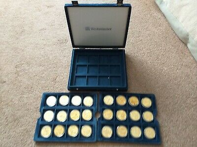 2000 Sydney Australia Olympic Games $5 Dollar Coins 24 Coins Boxed Westminster • 115£
