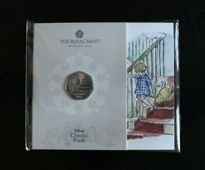 £9.99 • Buy 2020 Christopher Robin 50p Fifty Pence Coin In Original Royal Mint BUNC Pack