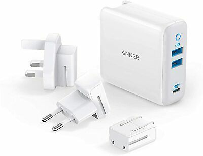 AU81.61 • Buy USB C Charger, Anker 65W PIQ 3.0&GaN Type-C Charger With A 45W PD Port PowerPort