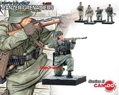 DRAGON 1:35 WW2 GERMAN Soldier Diorama PANZER GRENADIER BUILT Figure MODEL CD_17 • 6.99£
